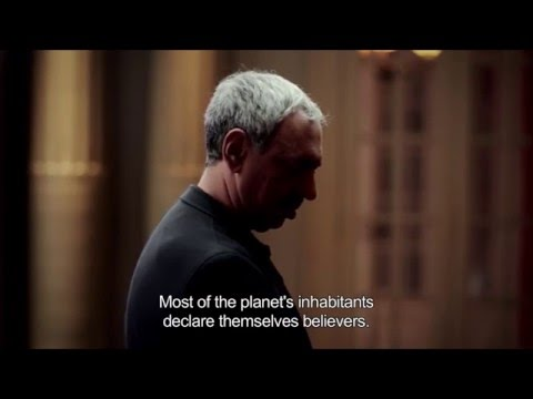 VERIZON COMMERCIAL 666 BLUE RED yELLOW LIST VATICAN COMMERCIAL POPE FRANCIS ONE WORLD RELIGION