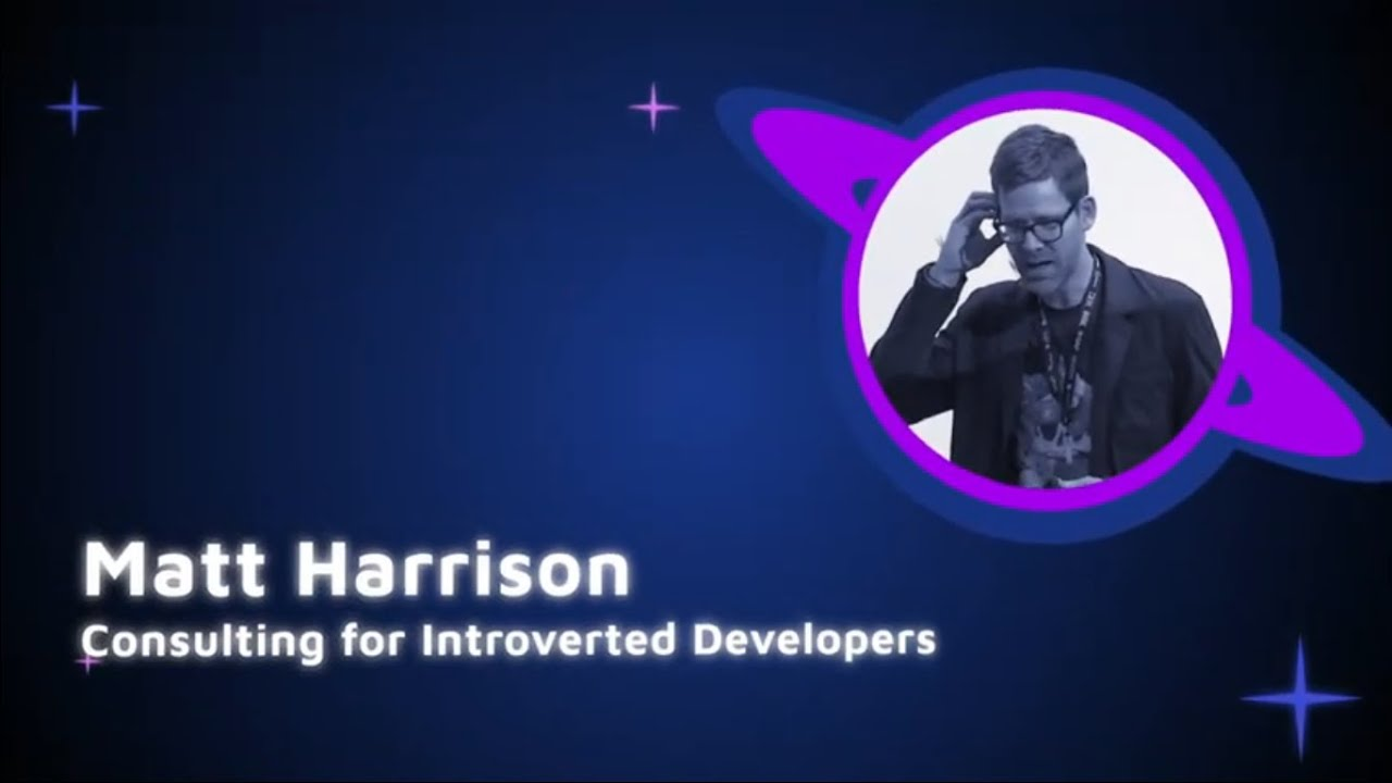 Image from Matt Harrison - Consulting for Introverted Developers - PyCon Colombia 2019