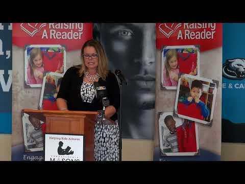 """Raising A Reader"" and PA Mason's presentation to the HBGSD"
