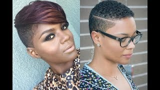 Trendy Short Haircuts for Black Women 2019