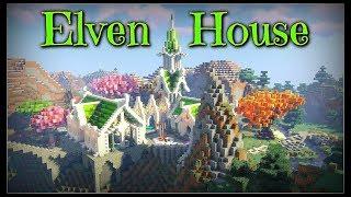 Minecraft Timelapse Elven House YouTube