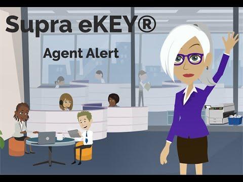 Supra eKEY® Agent Alert