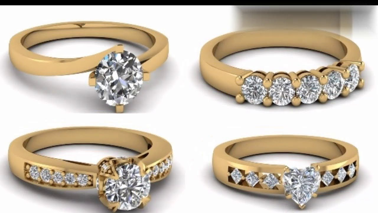 Top 10 Indian Gold Ring Design For Ladies 2018 Youtube