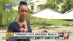 NWS confirms tornado hit Madeira Beach during severe weather