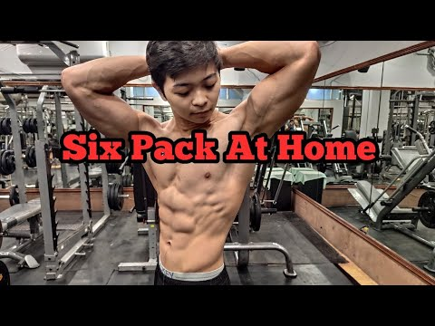 Get 6 Pack Abs At Home! | Brandon Lee