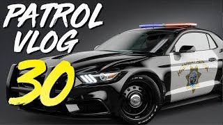 DASH CAM VIDEO! Angry Parents show up on TRAFFIC STOP (Virtual Ride Along Ep 30)
