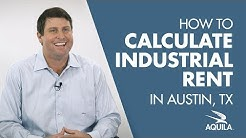 How Industrial Rental Rates are Calculated