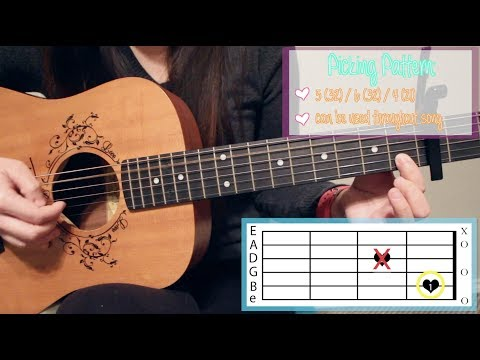 """Real Friends"" - Camila Cabello EASY Guitar Tutorial [Chords/Strumming/Picking/Cover]"
