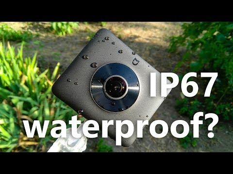 Is the Xiaomi Mijia Mi Sphere 360 IP67 waterproof?