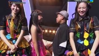 Kak Ve & Shania JKT48 @ Indonesian Idol Junior 170115