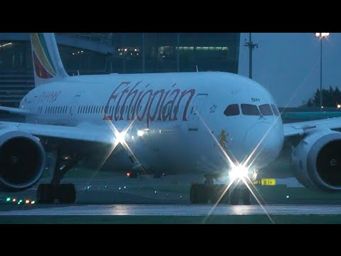 1 HOUR plane spotting at Dublin Airport (Inc. Ethiopian 787 + Etihad 777)