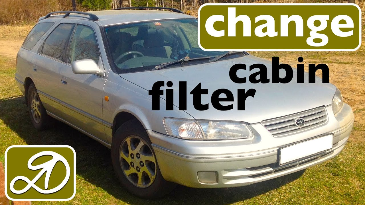 how to change the cabin filter on the toyota camry gracia do it toyota camry 2001 cabin filter location get free image about wiring [ 1280 x 720 Pixel ]