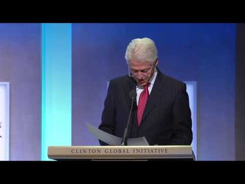 President Clinton Announces Oceans: A CGI Action Network Mee