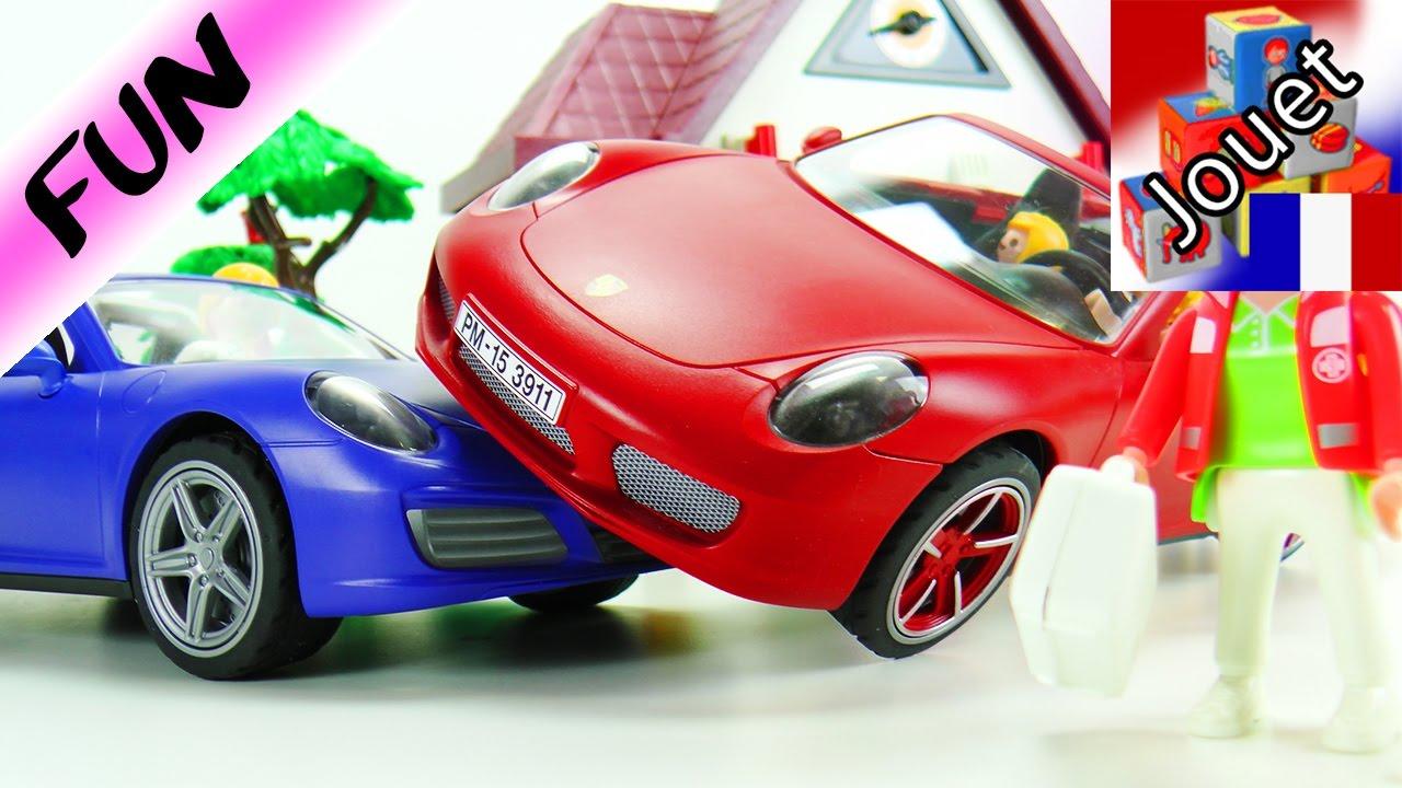 Playmobil Français Achetée De Film Et Déjà Abîmée Accident PorscheFraîchement bfgIyYv76