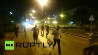 Turkey Coup: Shots fired, people out on streets fleeing(Turkey's government appears to have been overthrown in a coup, as the military claimed taking control over the country. READ MORE: http://on.rt.com/7j3j ..., 2016-07-15T21:23:08.000Z)