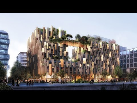 10 plant-covered buildings that point to a greener future