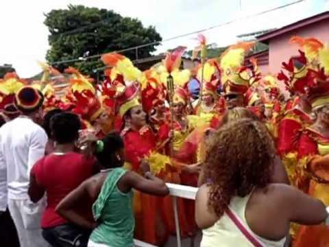 Carnival event in Curacao-Kaya (street) Otrabanda -  2012- song 'WAKE'.