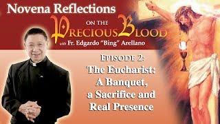 Precious Blood Novena Reflection    Day 2   The Eucharist: A Banquet, Sacrifice, and Real Presence