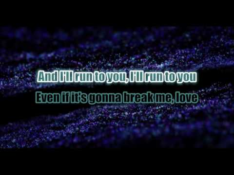 Lea Michele ~ Run To You Karaoke ( No BV )
