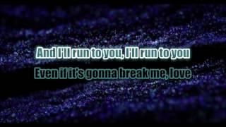 Lea Michele ~ Run To You Karaoke ( No BV )