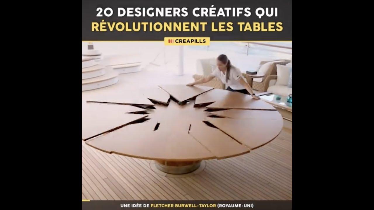 20 designers creatifs qui revolutionnent les tables