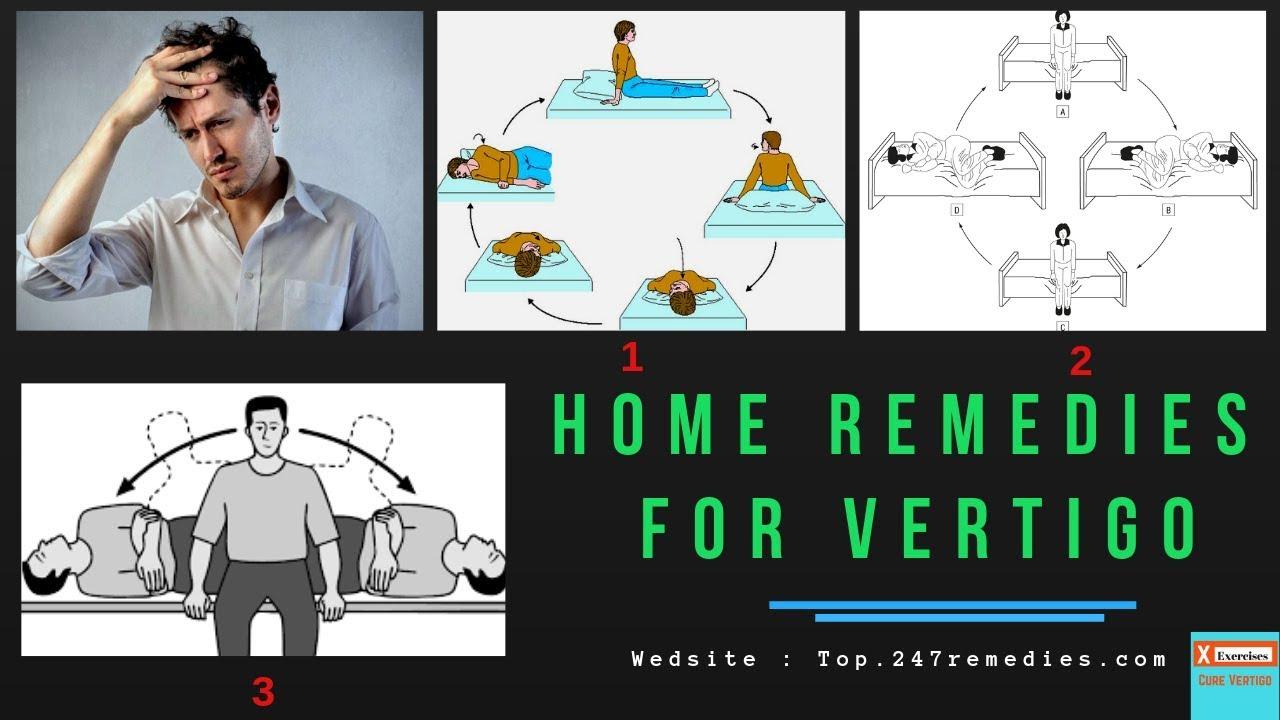 Vertigo Exercises Home Remedies For Vertigo Youtube