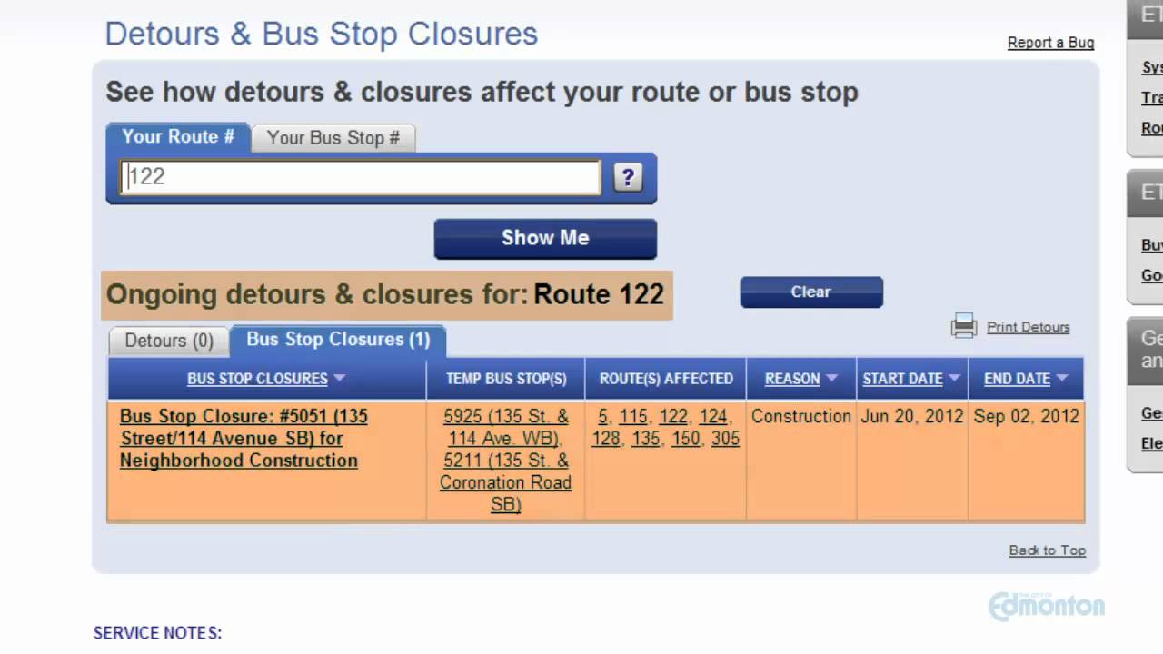 The Every Day Way to use the ETS Trip Planner