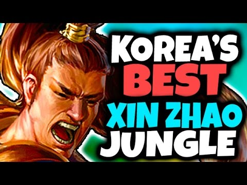 70% WIN RATE IN MASTER TIER - Korea's BEST Xin'Zhao Jungle - League of Legends