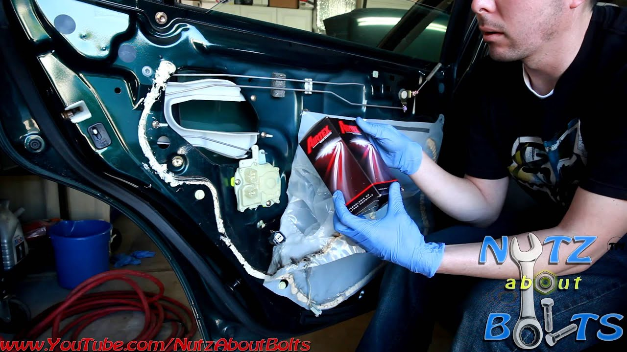 1998-2002 Honda Accord door lock actuator remove and install - YouTube