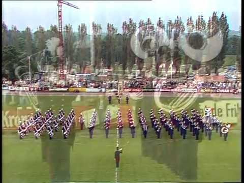La Landwehr de Fribourg - Parade du 13 juin 1981