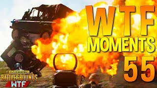 PUBG WTF Funny Moments Highlights Ep 55 (playerunknown's battlegrounds Plays)