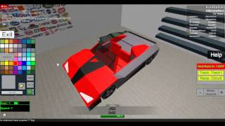 Street Racing Unleashed Roblox - Making a Roadster!