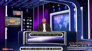 UK LONDRE Le diable et les poubelles de Kinshasa par Kwebe Kimpele