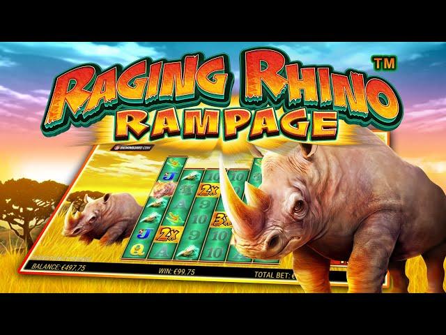 RAGING RHINO RAMPAGE (SG DIGITAL) ONLINE SLOT