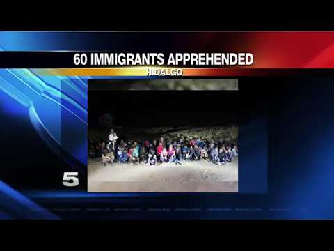 60 Illegal Aliens Crossing Border Apprehended. Yay! Now let's catch the rest. Estimated over a thousand a day are crossing over. Sucking America Dry!
