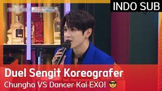 Duel Sengit Koreografer Chungha VS Dancer Kai EXO! 😎 #StreetWomanFighterKDanceBattle 🇮🇩INDOSUB🇮🇩