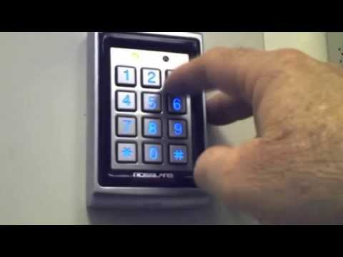 Program Stand Alone Reader - Rossalare Security