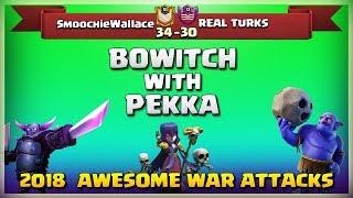 SmoochieWallace Vs REAL TURKS   Post UPDATE War Recap #54   COC 2018  