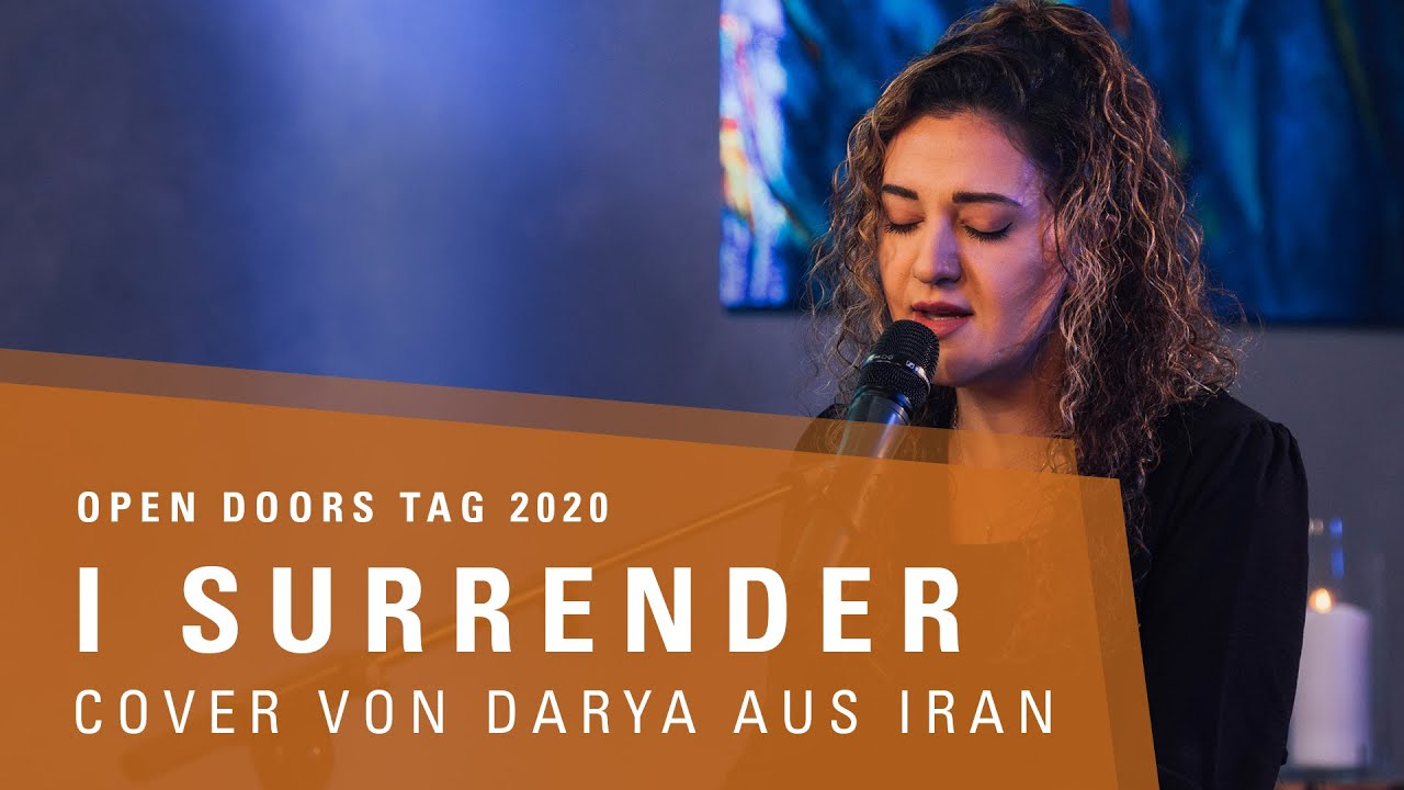 I SURRENDER - Cover von Darya aus Iran | Open Doors Tag 2020