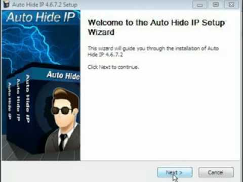 How to crack auto hide ip