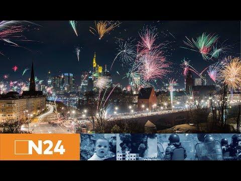 Happy New Year: So begrüßen Deutschland und die Welt das neue Jahr 2018