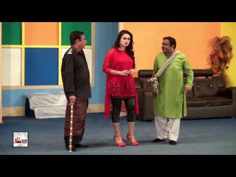 MARASION KI SELECTION - SOBIA KHAN & NASIR CHINYOTI - PAKISTANI STAGE DRAMA FULL COMEDY CLIP