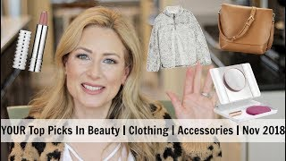 YOUR Top Picks In Beauty | Clothing | Accessories | Lifestyle | Nov 2018 | MsGoldgirl