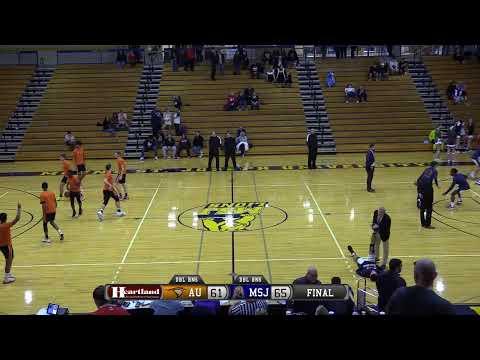 MSJ Women's Basketball vs Anderson University