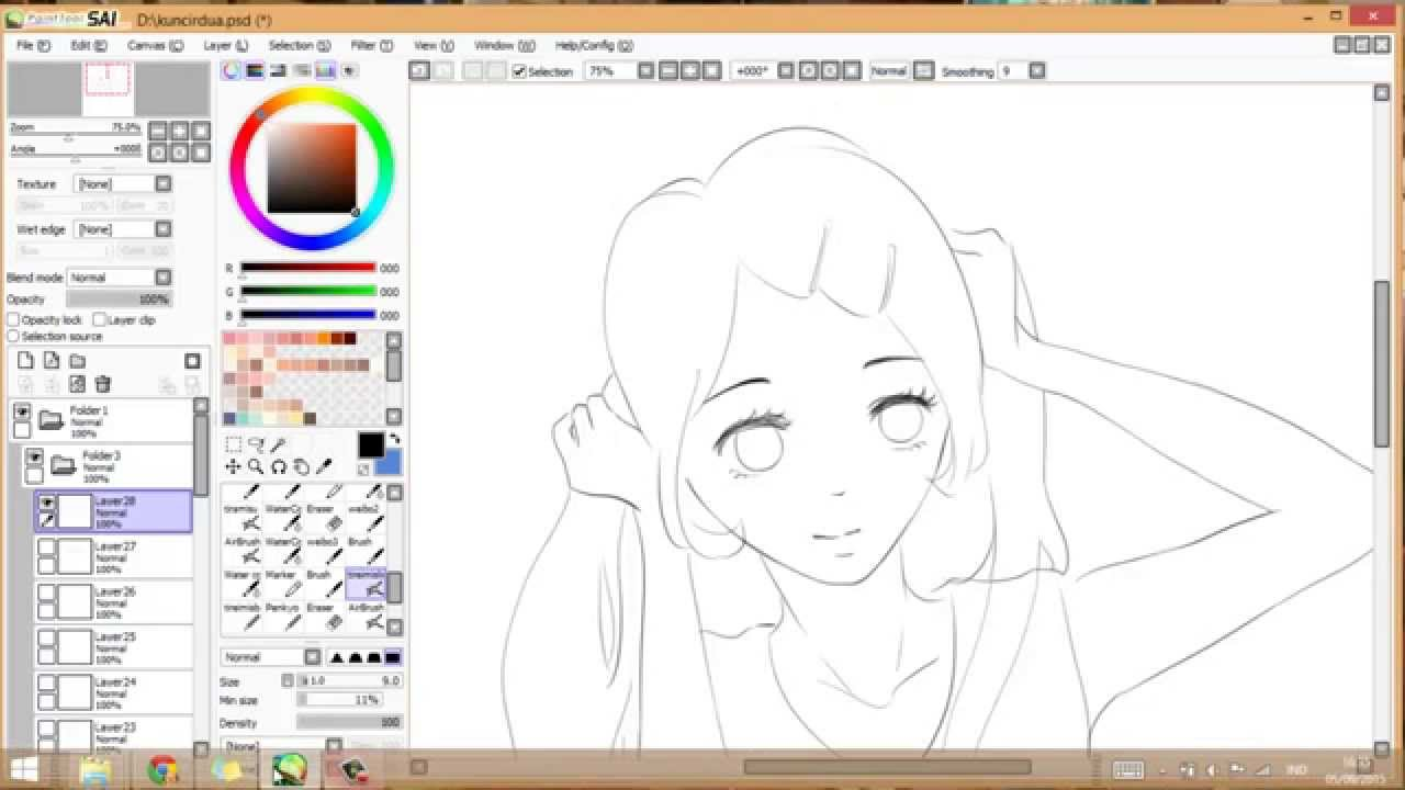 Drawing Anime Bangs Tutorial [15 Different Styles]
