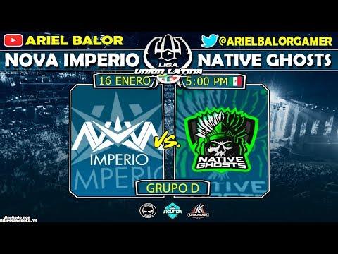 🥇Nova Imperio vs Native Ghost🥇 | Liga Union  | Grupo D.!!