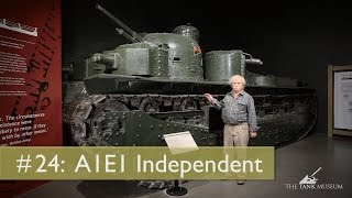 Tank Chats #24 Vickers A1E1 Independent | The Tank Museum