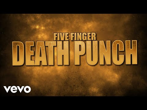 Five Finger Death Punch  Gone Away Lyric