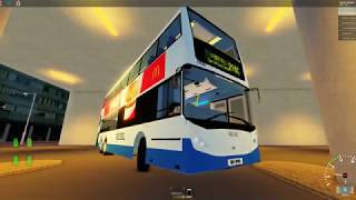 ROBLOX Brendon District- L'autobus che guida City 298C New Century Plaza - Centro Città Centrale