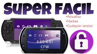 2019 Como modificar  y actualizar PSP 6.61 6.60 bien explicado con links de descarga y super facil